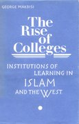 Cover for The Rise of Colleges