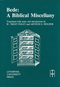 Cover for Bede: A Biblical Miscellany