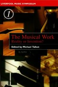 Cover for The Musical Work