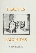 Cover for Plautus: Bacchides