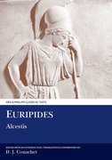 Cover for Euripides: Alcestis