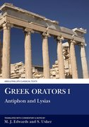 Cover for Greek Orators I