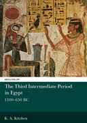 Cover for The Third Intermediate Period in Egypt