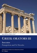 Cover for Greek Orators III: Isocrates