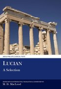 Cover for Lucian: A Selection