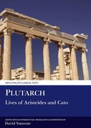 Cover for Plutarch: Lives of Aristeides and Cato