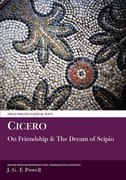 Cover for Cicero: On Friendship and the Dream of Scipio