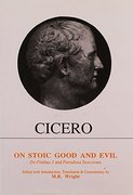 Cover for Cicero: On Stoic Good and Evil