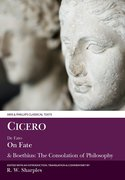 Cover for Cicero: De Fato, On Fate