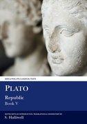 Cover for Plato: Republic V