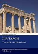 Cover for Plutarch: The Malice of Herodotos