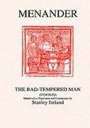 Cover for Menander: The Bad Tempered Man
