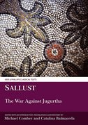 Cover for Sallust: The War Against Jugurtha