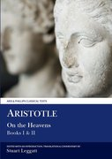Cover for Aristotle: On the Heavens