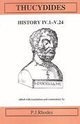Cover for Thucydides: History IV 1-V 24