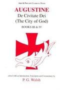 Cover for De Civitate Dei Books III and IV