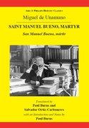 Cover for Miguel de Unamuno: Saint Manuel Bueno, Martyr