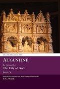 Cover for Augustine: De Civitate Dei The City of God Book X