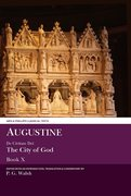 Cover for Augustine: De Civitate Dei The City of God Book X