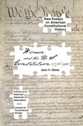 Cover for Women and the U.S. Constitution: 1776-1920