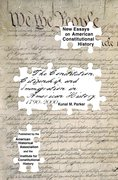Cover for The Constitution, Citizenship, and Immigration in American History, 1790 to 2000