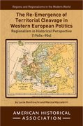Cover for The Re-Emergence of Territorial Cleavage in Western European Politics