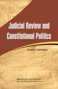 Cover for Judicial Review and Constitutional Politics