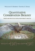 Cover for Quantitative Conservation Biology