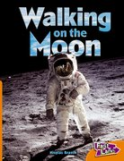 Cover for Walking on The Moon Fast Lane Orange Non-Fiction