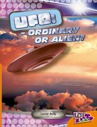Cover for UFOS Ordinary or Alien Fast Lane Orange Non-Fiction