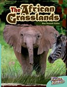 Cover for African Grasslands Fast Lane Turquoise Non-Fiction