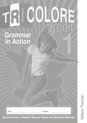 Cover for Tricolore Total 1 Grammar in Action Workbook (8 pack)