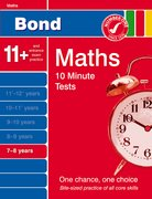 Cover for Bond 10 Minute Tests Maths 7-8 years