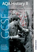 Cover for AQA GCSE History B International Relations: Conflict and Peace in the 20th Century