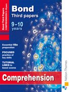 Cover for Bond Comprehension Third Papers 9-10 Years