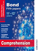 Cover for Bond Comprehension Fifth Papers 11+-12+ Years