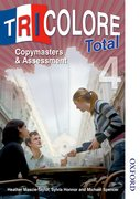 Cover for Tricolore Total 4 Copymasters and Assessment