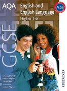 Cover for AQA GCSE English and English Language Higher Tier