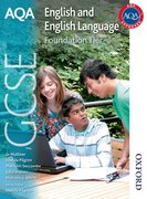 Cover for AQA GCSE English and English Language Foundation Tier
