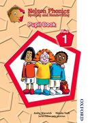 Cover for Nelson Phonics Spelling and Handwriting Pupil Book Red 1