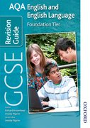 Cover for AQA GCSE English and English Language Foundation Revision Guide