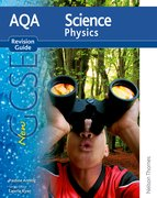 Cover for New AQA Science GCSE Physics Revision Guide