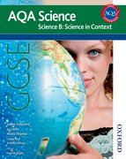 Cover for New AQA Science GCSE Science B: Science in Context