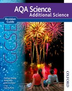 Cover for New AQA Science GCSE Additional Science Revision Guide