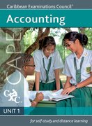 Cover for Accounting CAPE Unit 1 A Caribbean Examinations Council Study Guide
