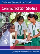 Cover for Communication Studies CAPE A Caribbean Examinations Council Study Guide