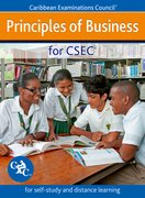 Cover for Principles of Business for CSEC - for self-study and distance learning