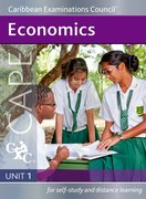 Cover for Economics CAPE Unit 1 A Caribbean Examinations Council Study Guide