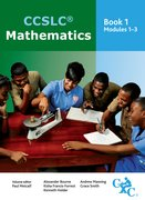 Cover for CCSLC Mathematics Book 1 Modules 1-3