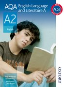 Cover for AQA English Language and Literature A A2